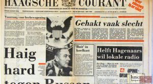Haagsche Courant mei 2001