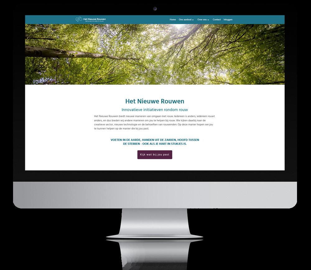 Het Nieuwe Rouwen website